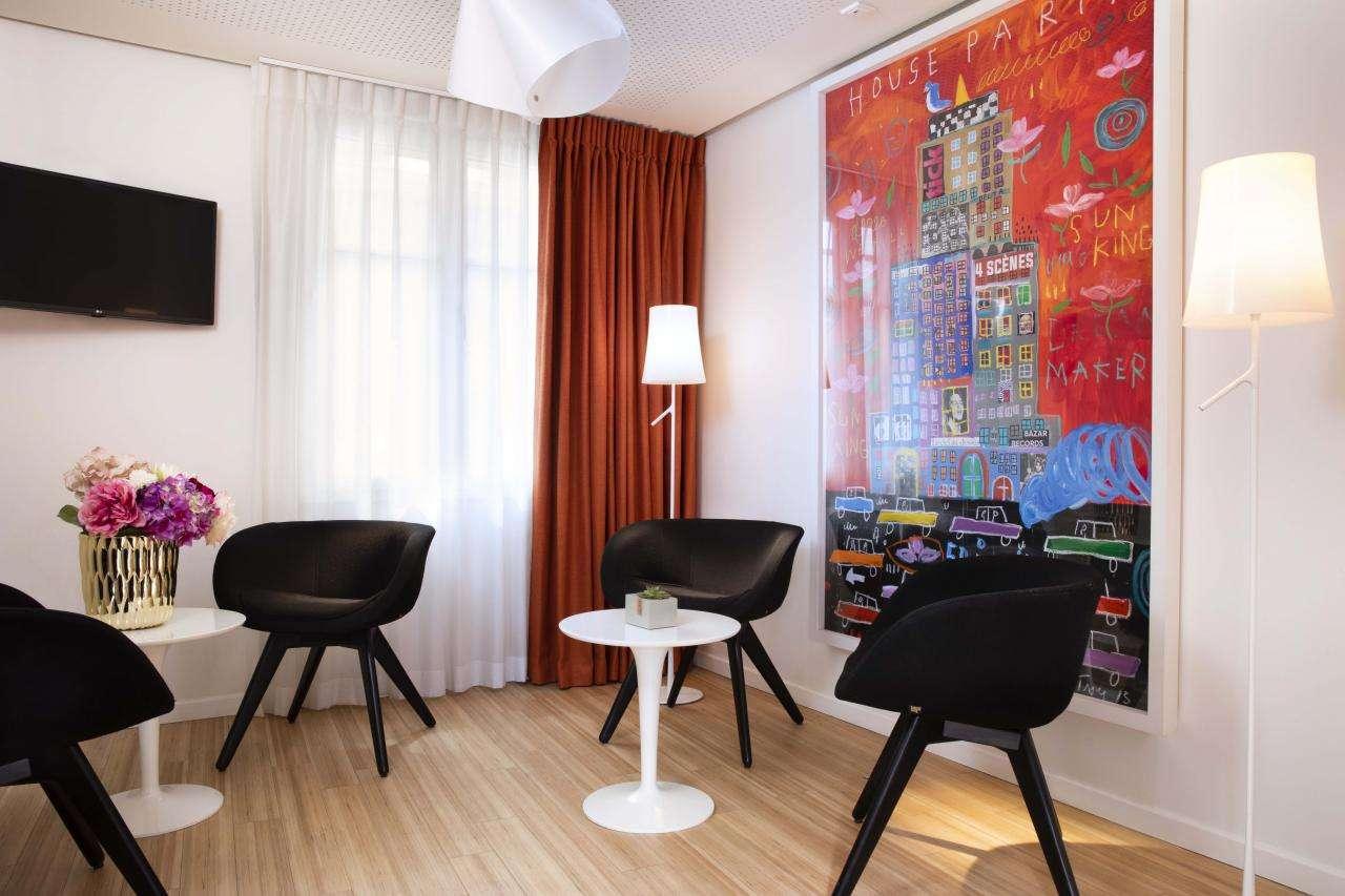 Hôtel Hor Les Lumières - salon